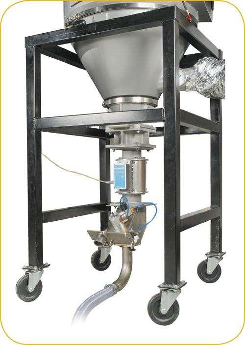 MoistureMaster unit on drying hopper