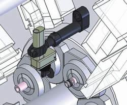Vertically Mounted Probe