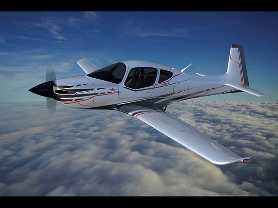 Composite aircraft from Mooney International