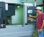 Mori Seiki NV5000 vertical machining center