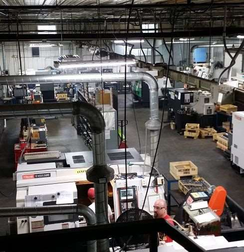 Morning in the Machine Shop