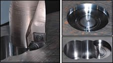 Most efficient tool for plunging into the workpiece is a drill