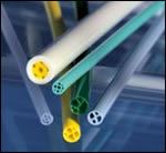 Multi-lumen tubing increases in complexity