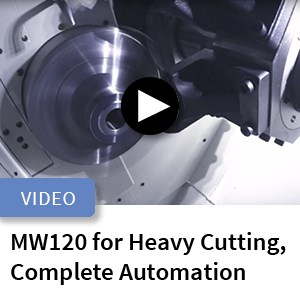 Murata MW120 Machining Cell for Heavy Cutting, Complete Automation