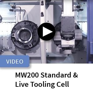 Murata MW200 Standard and Live Tool Turning Machine