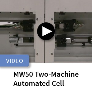 Murata MW50 Two-Machine Automated Cell Video