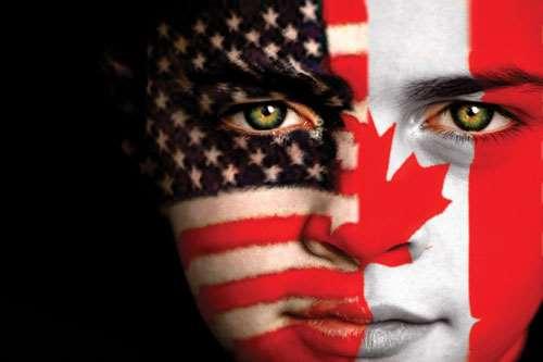 North America face