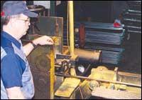 NDT technician Tim Scott