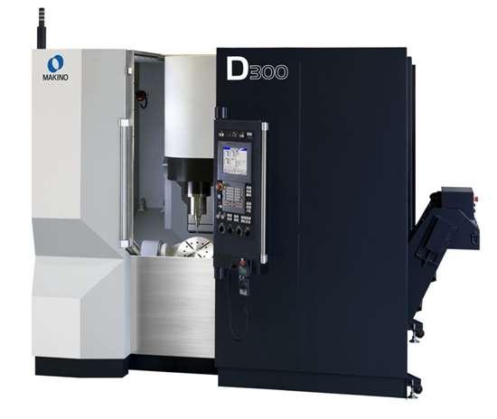 D300 five axis vertical maching center