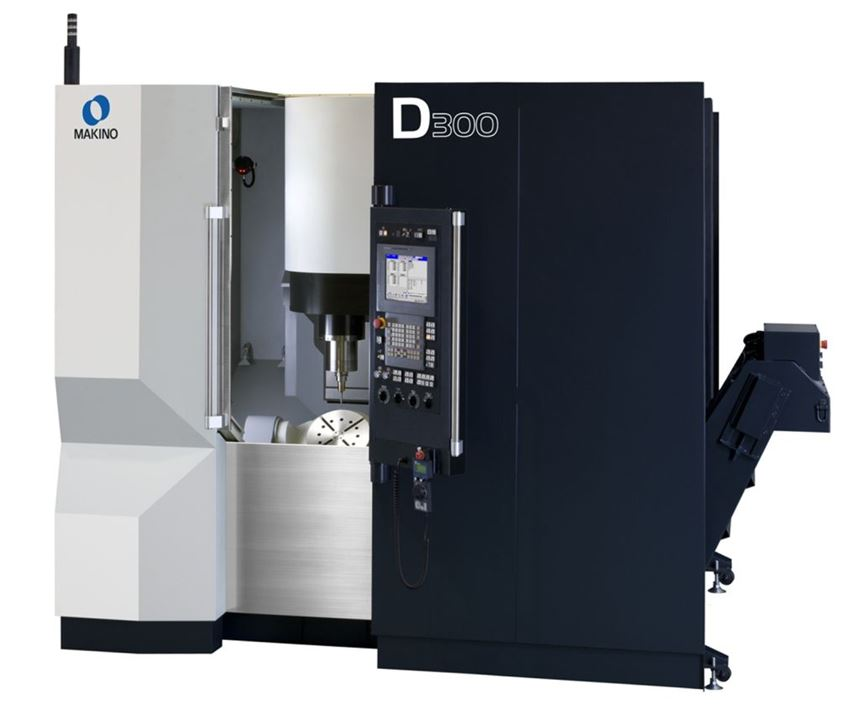 D300 five axis vertical maching center