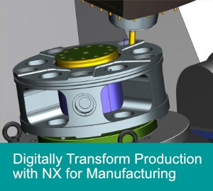 Siemens NX software for manufacturing