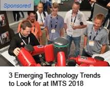 Automation, Industry 4.0, 3D printing, Additive Manufacturing trends at IMTS 2018
