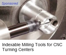 Iscar milling tools for turning centers
