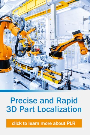 Precise and Rapid 3D Part Localization