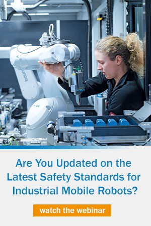 Are you updated on the latest safety standards for industrial mobile robots?