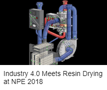 Resin drying technology at NPE 2018