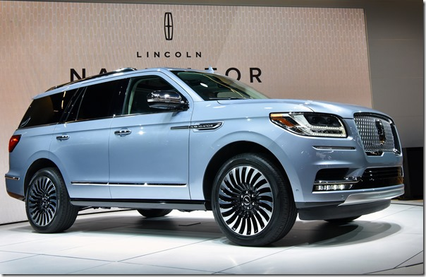 All-New 2018 Lincoln Navigator Unveiled