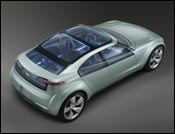 New Chevy Volt electric concept car