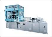 Nissei single-stage injection stretch-blow molder