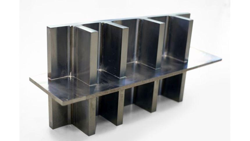 Rapid plasma deposition titanium part
