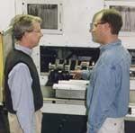 Norton CFO Les Lipski and process engineer Andy Bowen.jpg