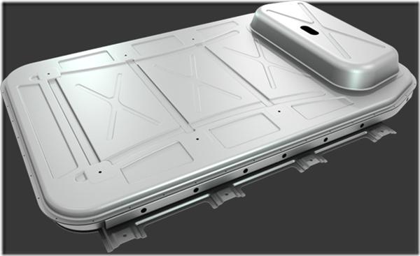 Aluminum Sheet for EV Battery Enclosure image