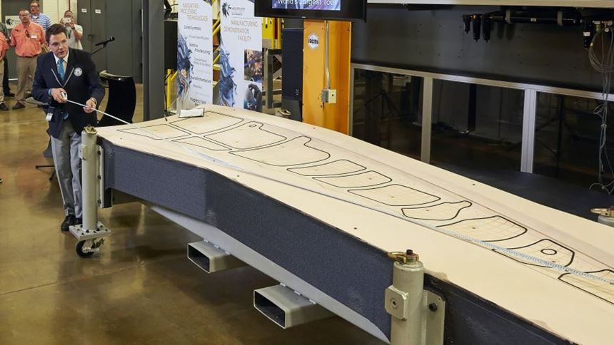 Official measurement of 3D-printed trim tool