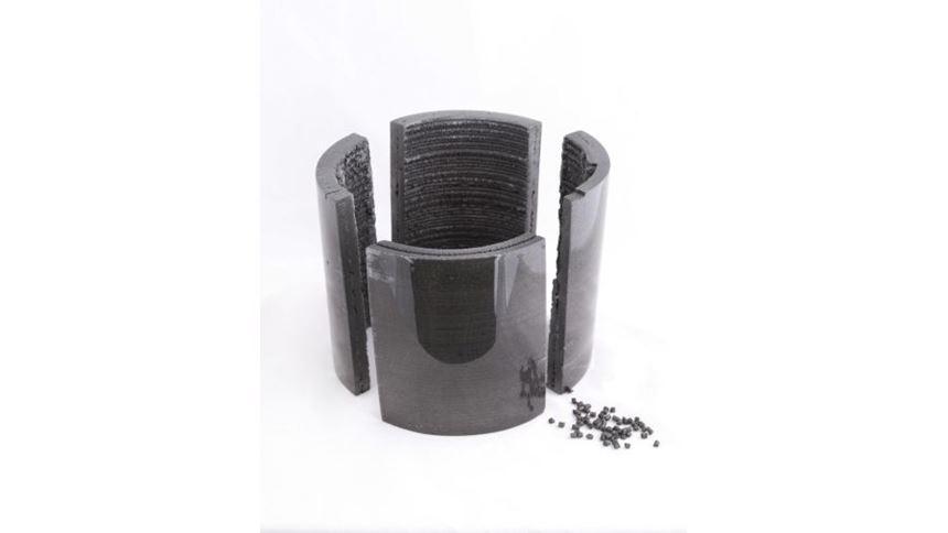 3D-printed magnet