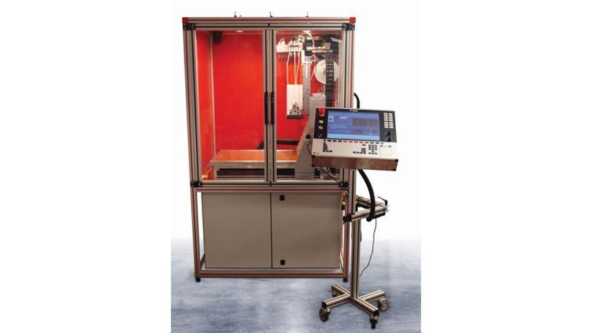 Fabru PlastJet 3C 3D printer with OSAI control
