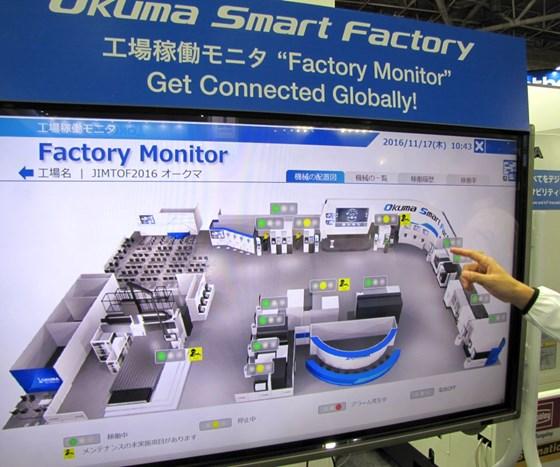 Okuma display at JIMTOF