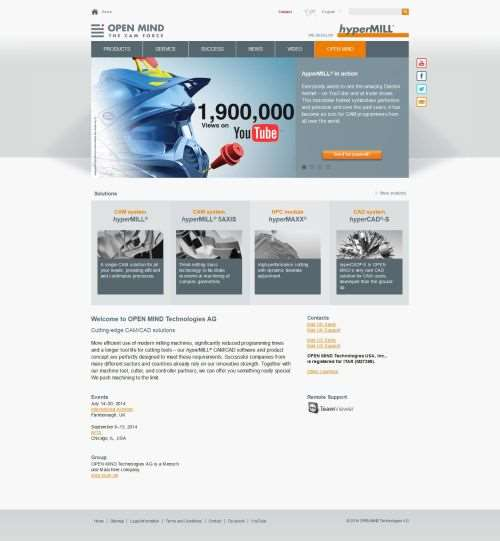 Homepage at openmind-tech.com