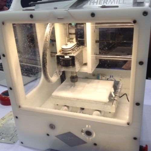 desktop CNC milling