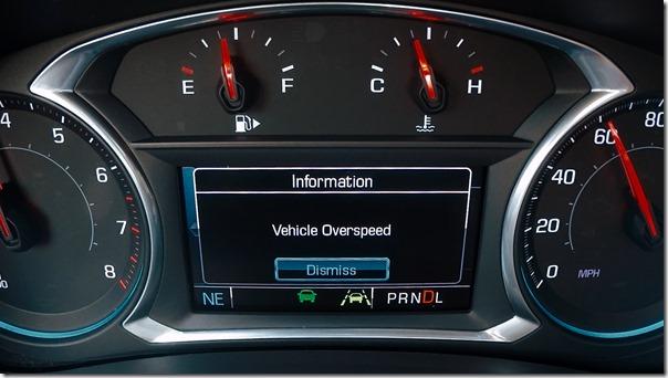 Teen Driver Technology Overspeed Warning