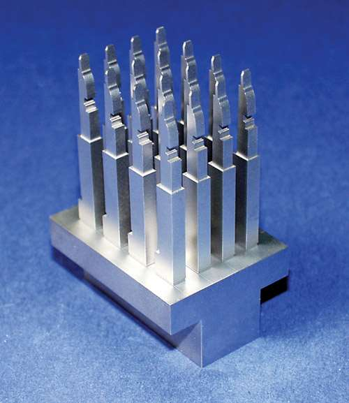 wire cut core pins