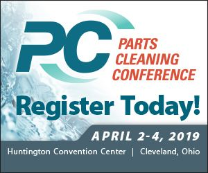 Parts Cleaning Conference - Register Today!