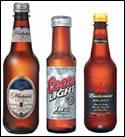 PET beer bottles