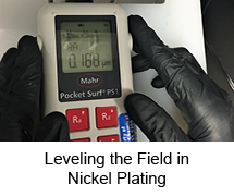 Leveling the Field in Nickel Plating