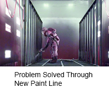 Problem Solved Through New Paint Line