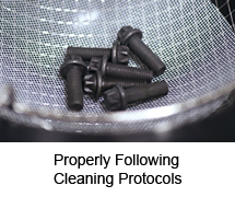Properly Following Cleaning Protocols