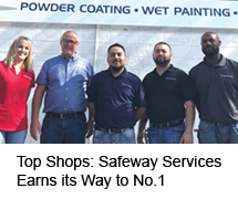 Safeway Services Earns its Way to No.1
