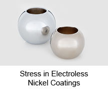 Stress in Electroless Nickel Coatings