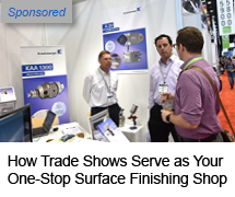 How Trade Shows Serve as Your One-Stop Surface Finishing Shop