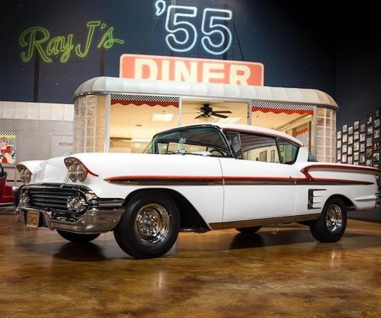 """Iconic 1958 Chevrolet Impala from """"American Graffiti"""" Hits the Road with Axalta"""