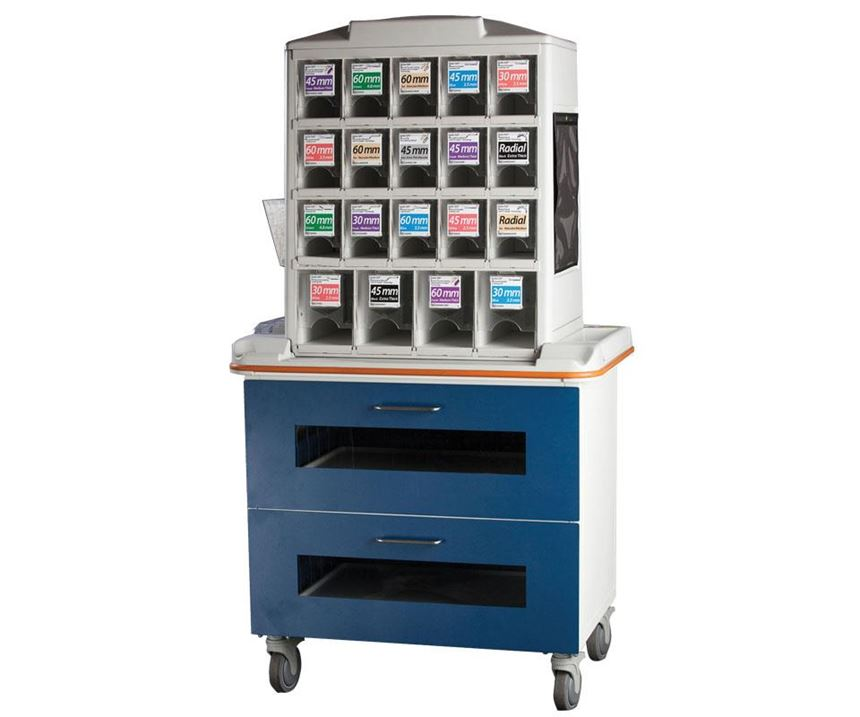 HUI manufactures carts for the medical industry.