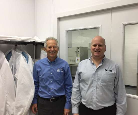 Bill Miller and Todd Boyer, co-owners of Hohman Plating, hold an impressive client list, offering aerospace coatings to customers like Pratt and Whitney, GE Aviation and NASA.