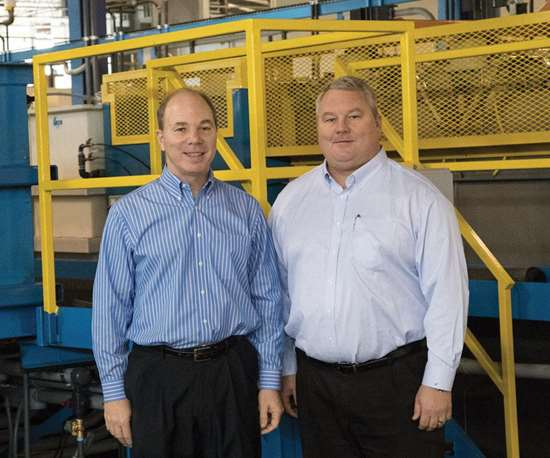 Matt and Mitch Marsh of Marsh Plating.