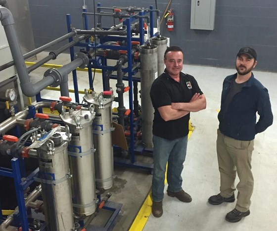 Medina Plating owners Shawn Ritchie and grandson Tait Krejci invested millions on new equipment and technology, earning them the No. 1 Top Shops status.