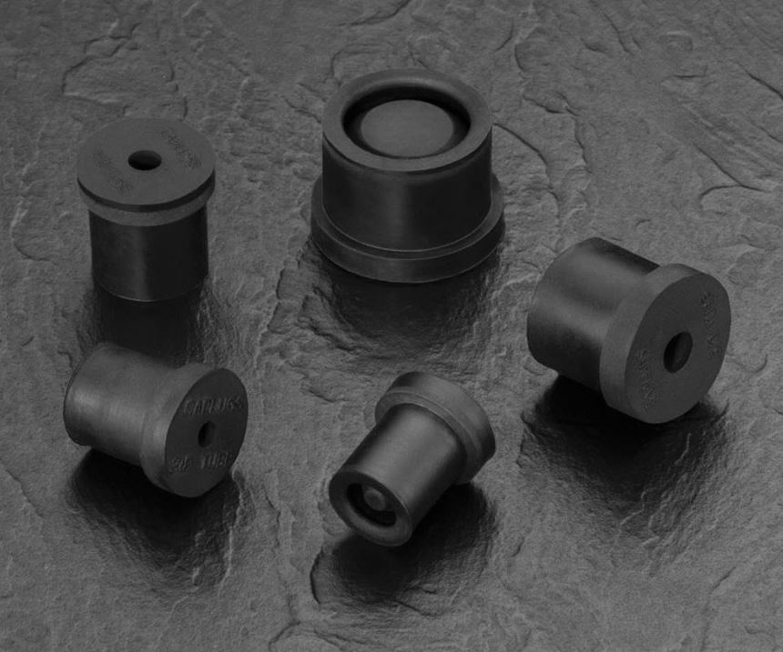 Caplugs' RMCP-SH series of re-sealable masking cap/plugs is designed to protect a variety of copper inlet and outlet tubes on HVAC compressor units during coating and pressure testing.