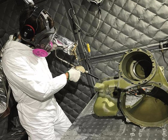 Applicators use cold spray technology for a variety of common but complex military parts and substrates.