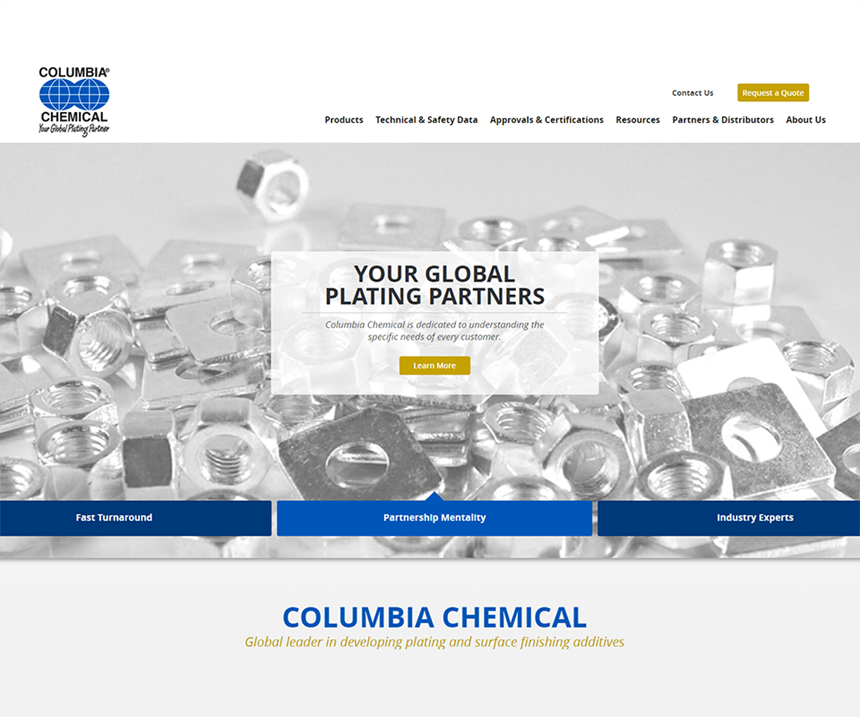 Columbia Chemical website.